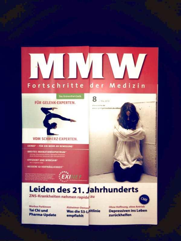 MMW Fortschritte der Medizin, Mai 2013 Nr. 08 - Leiden des 21.Jahrhunderts: ZNS- Krankheiten nehmen rapide zu, Morbus Parkinson: Tai Chi, Alzheimer Demenz, depressiven ins Leben zurückhelfen