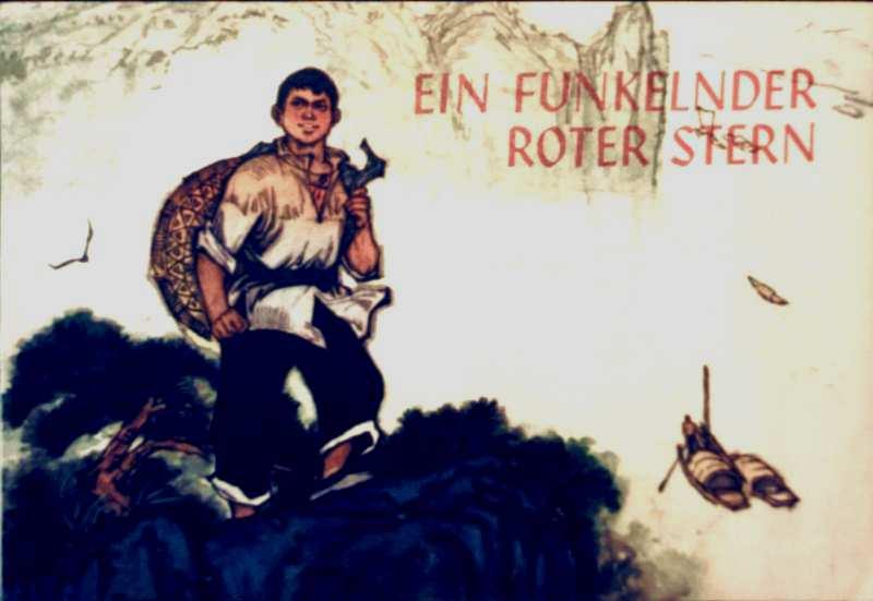 Ein funkelnder roter Stern - Bildergeschichte nach dem gleichnamigen Roman (schwarz-weiß illustriert)
