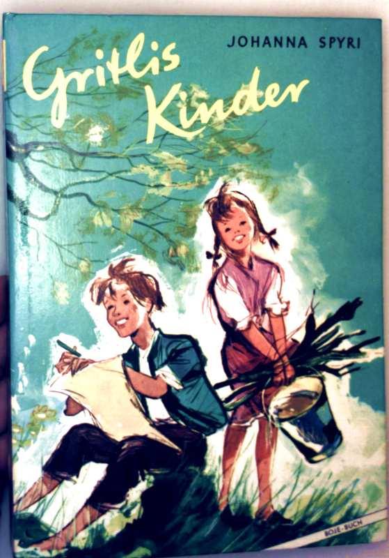 Gritlis Kinder - Teil 1: wo Gritlis Kinder hingekommen sind, Teil 2: Gritlis Kinder kommen weiter (schwarz-weiß illustriert)