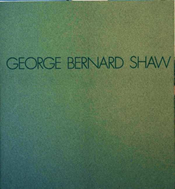 Georg Bernard Shaw (farbig illustrierte Werbeschrift der Firma Nattermann)
