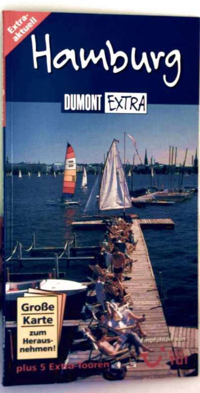Dumont Extra - Hamburg mit 5 Extra-Touren - ohne Faltkarte!!!