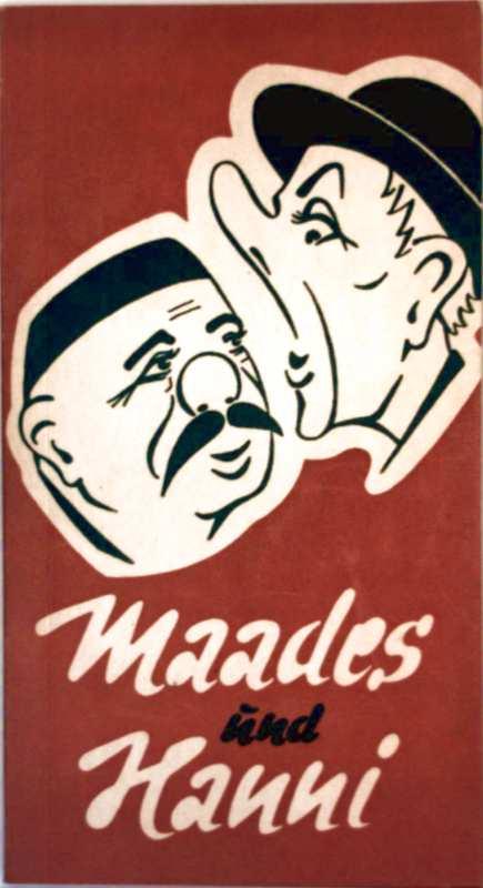 Maades und Hanni (schwarz-weiß illustriert)