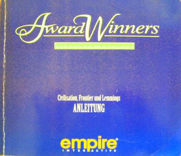 empire interactive: Anleitung - Award Winners Platinum Edition - Civilization, Frontier Elite2, Lemmings