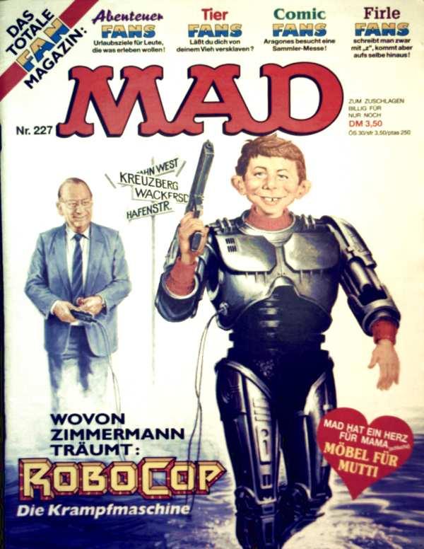 Klaus Recht (Hsg.): MAD No. 227, das vernünftigste Magazin der Welt
