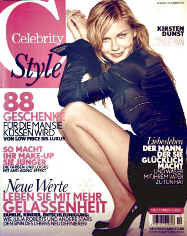 Celebrity Dezember 2008 - so macht ihr Make-up Sie jünger, leben sie mit mehr Gelassenheit, Liebesleben: der Mann der sie glücklich macht und was er mit ihrem Vater zu tun hat