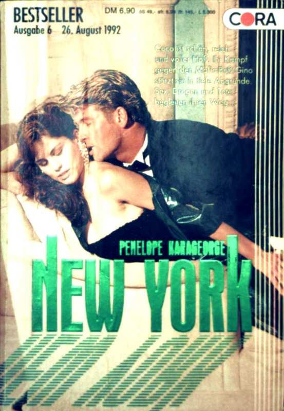 Cora Bestseller Ausgabe 6/Nr.48, August 1992 - New York
