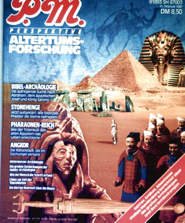 P.m. - Perspektive Altertumsforschung: Bibel-Archäologie, Stonehenge, Pharaonen-Reich, Angkor, Unterwasser-Archäologie