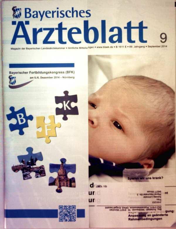 Bayerisches Ärzteblatt,  September 2014, Nr. 09  - Prävention in der Säuglings- und Kinderernährung