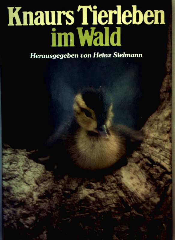 Knaurs Tierleben im Wald (mit 330 meist farbigen Fotos und Zeichnungen)
