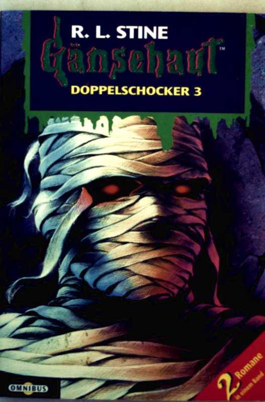 Gänsehaut, Doppelschocker 03: Der Fluch des Mumiengrabs, der Geist von nebenan
