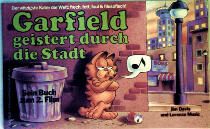 Jim Davis: Garfield geistert durch die Stadt - sein Buch zum 2. Film