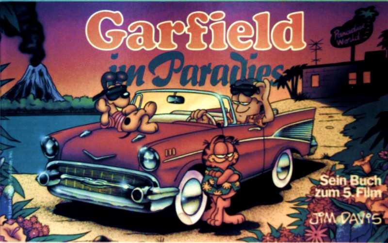 Garfield im Paradies - Kein Buch zum 5. Film - Jim Davis