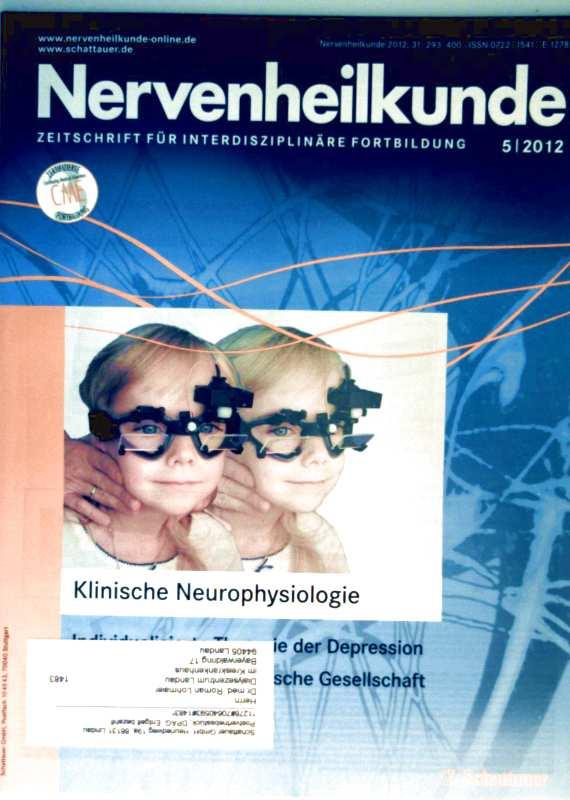Nervenheilkunde 2012, 05 Klinische Neurophysiologie