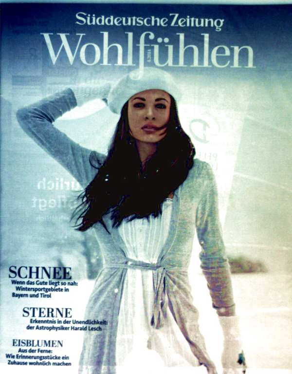 Süddeutsche Zeitung Magazin - Wohlfühlen 2014, Nr.4 - Schnee, Sterne, Eisblumen