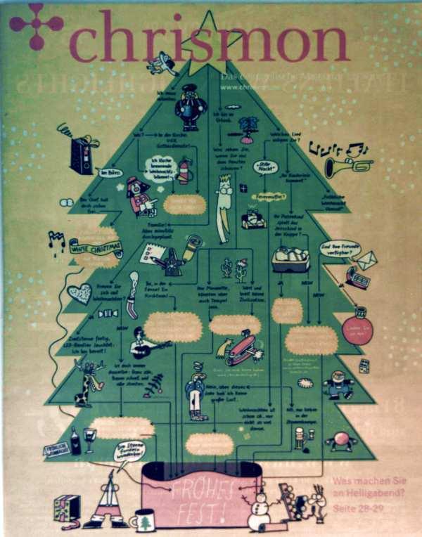 Chrismon. Das evangelische Magazin 2014, 12 Dezember - was machen Sie am Heiligabend