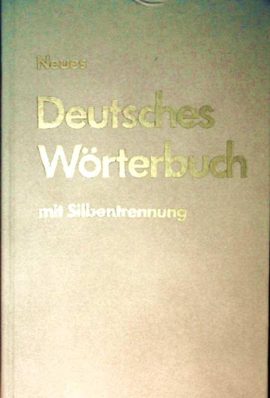 Deutsches Wörterbuch mit Silbentrennung