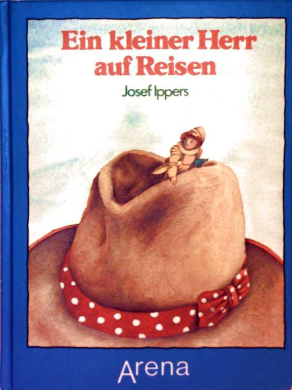 Josef Ippers, Petra Morenzi (Zeichnerin): Ein kleiner Herr auf Reisen (schwarzweiß illustriert)