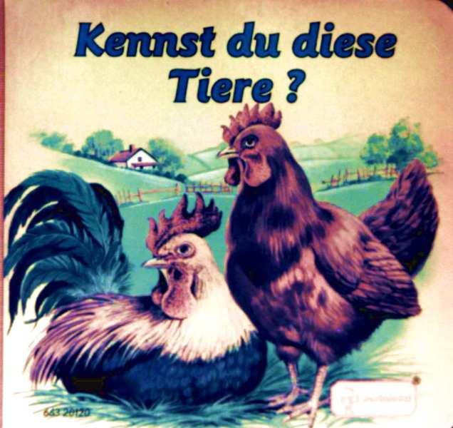 Edith Jentner, Ray Cresswell: Kennst du diese Tiere?