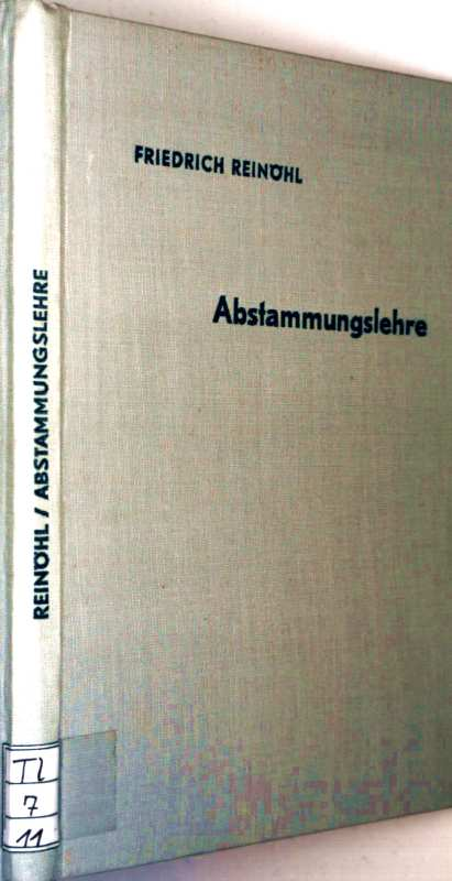 Abstammungs Lehre - Schriften des Deutschen Naturkundevereins, Bd. 11
