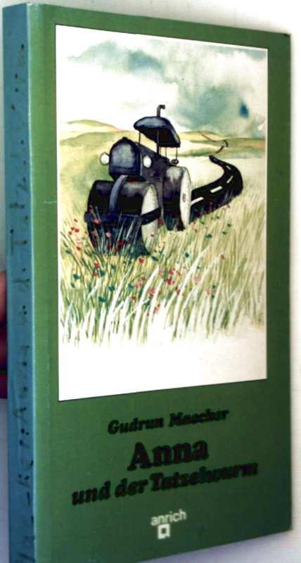 Gudrun Maecker, Helme Heine (Zeichner): Anna und der Tatzelwurm (schwarzweiß illustriert)
