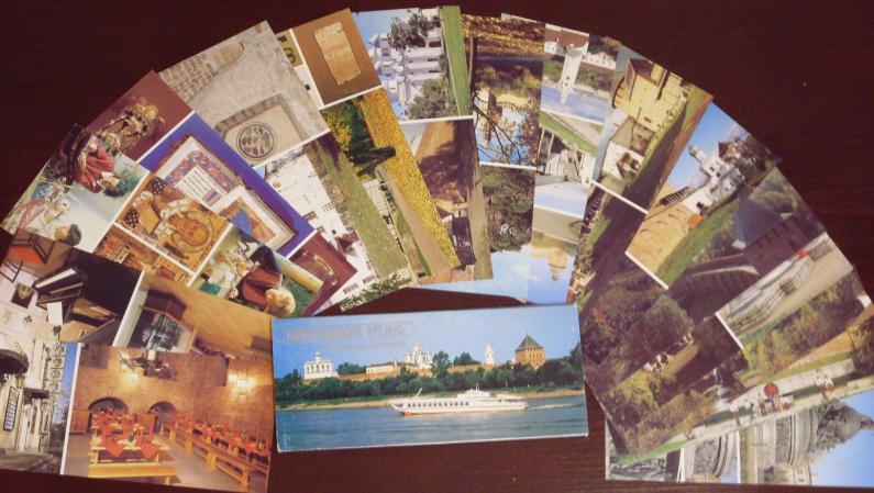 NOVGOROD KREMLIN - 16 Fotografie-Postkarten (Postkartenset)