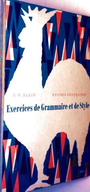 Exercices de Grammaire et de Style