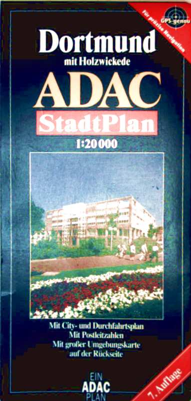 Dortmund mit Holzwickede, ADAC Stadtplan - mit City und Durchfahrtsplan, 1:20.000 (mit umfangreich. Strassenverzeichnis)