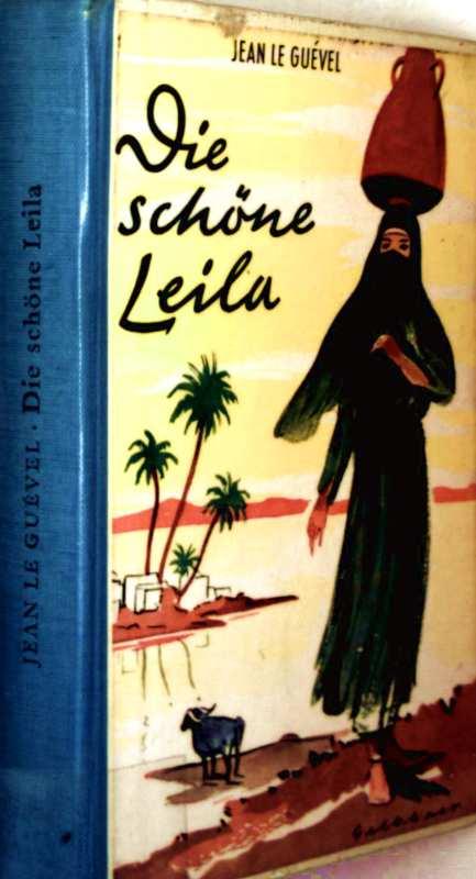 Die schöne Leila (schwarz-weiß illustriert)