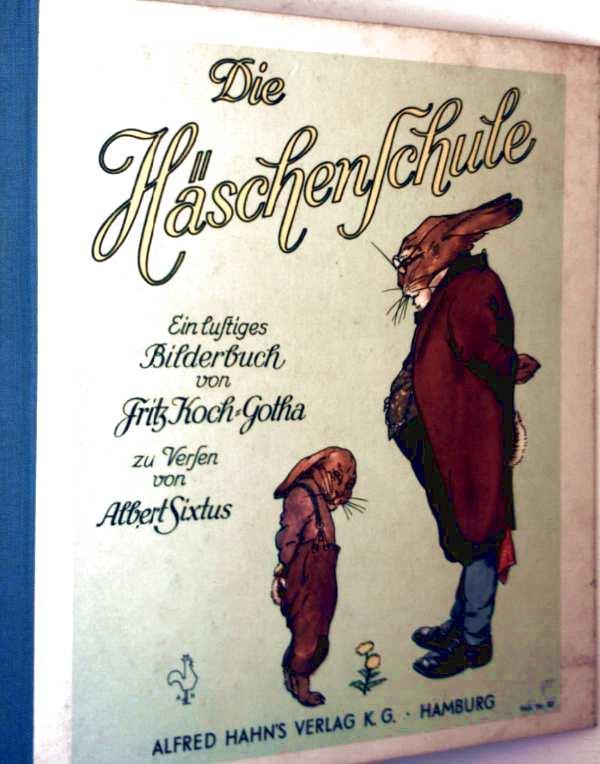Die Häschenschule - lustiges Bilderbuch