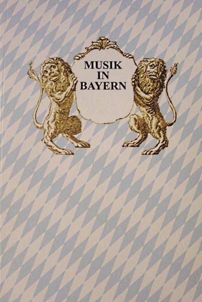 Gesellschaft f.Bayerische Musikgeschichte e.V.: Musik in Bayern, Heft 74/2009. Jahrbuch der Gesellschaft f.Bayerische Musikgeschichte e.V.