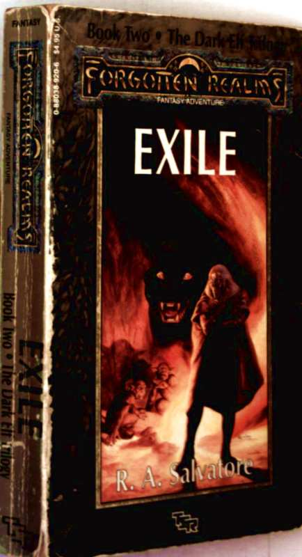 Forgotten Realins - The Dark Elf Trilogy, Book 2: Exile