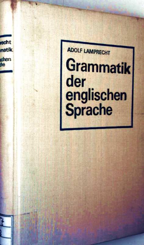 Grammatik der englischen Sprache