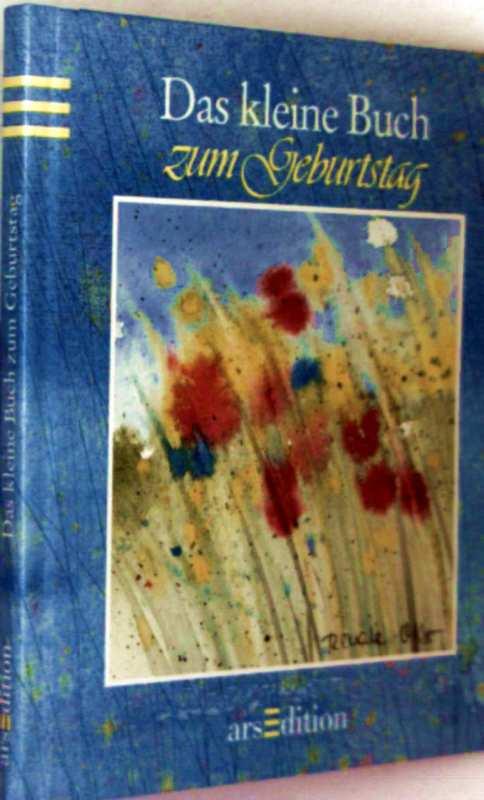 Renate Otto (Aquarelle): Das kleine Buch zum Geburtstag (mit Aquarellen)
