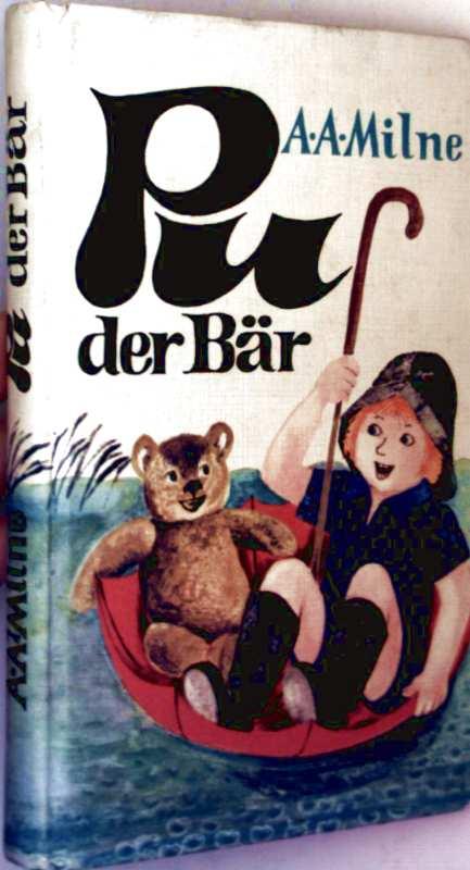 Pu der Bär (schwarzweiß illustriert)