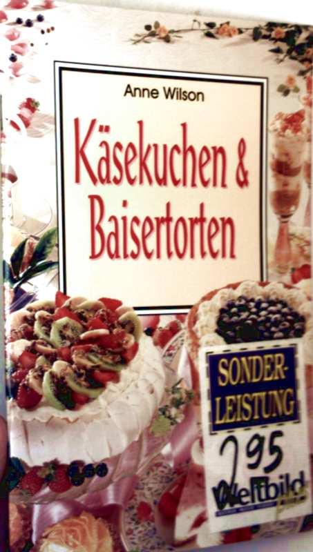 Käsekuchen und Baisertorten