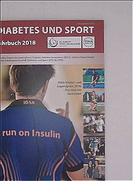 Diabetes und Sport - Jahrbuch 2018