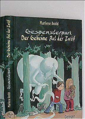 Gespensterpark - Der Geheime Rat der Zwölf (schwarzweiß illustriert)