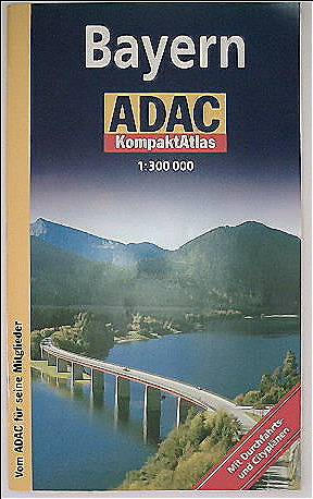 ADAC Kompaktatlas Bayern 1:300 000