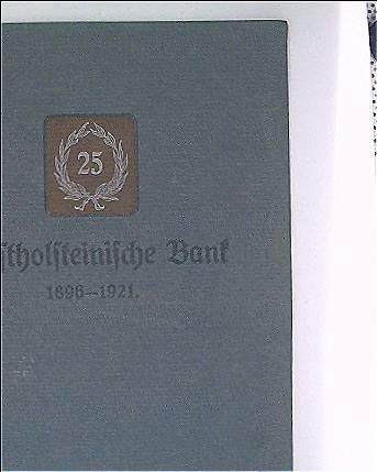 Westholsteinische Bank 1896-1921
