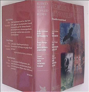 Readers Digest Sonderband: Das Testament / Das Bernstein-Amulett / Der Schneefalke