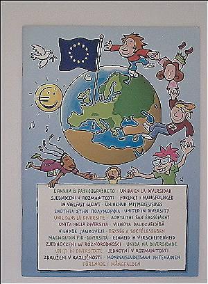 EU (Europäische Union): In Vielfalt geeint (Illustrierte Daten zu Land, Leuten, Einwohnerzahlen, Flaggen, etc. der EU-Länder)