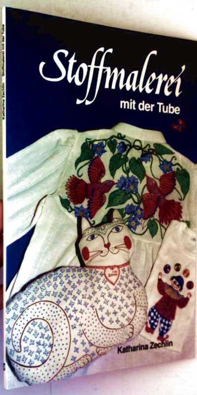 Stoffmalerei mit der Tube