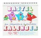 Bastelkalender zum Selbstgestalten der 12 Monatsblätter