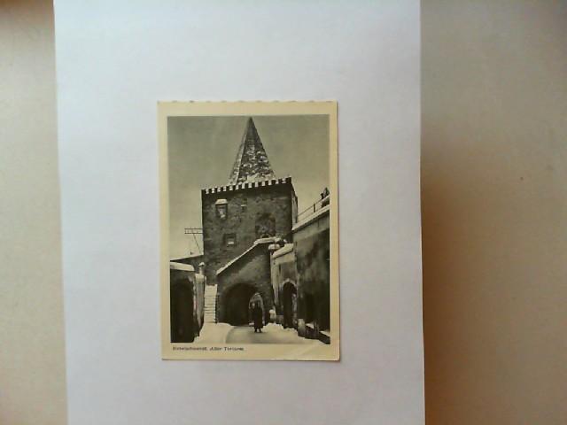 Habelschwerdt, Alter Torturm [schwarz-weiß-Postkarte]