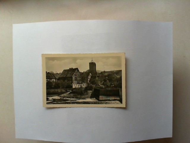Breslau, Sandinsel [schwarz-weiß-Postkarte]