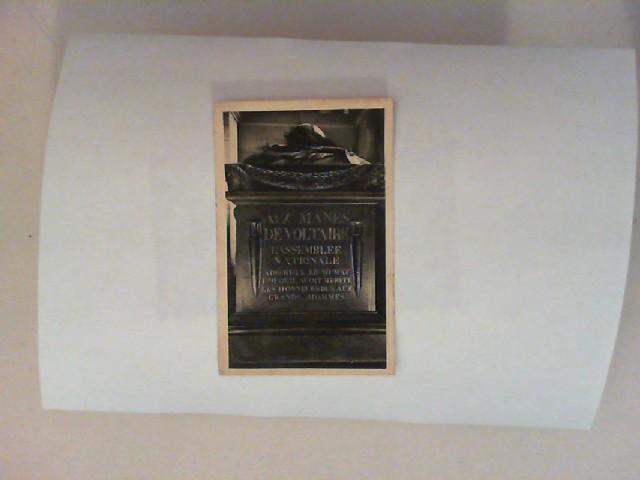 259 - Paris - Le Panthéon. Tombeau de Voltaire [schwarz-weiß Postkarte]