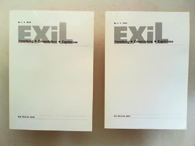 Koch, Joachim H., Edita Koch (Hg.) Henrike Walter (Hg.) u. a.: Exil 1933 - 1945. Forschung, Erkenntnisse, Ergebnisse - 30. Jahrgang 2010 vollständig in zwei Heften zusammen.