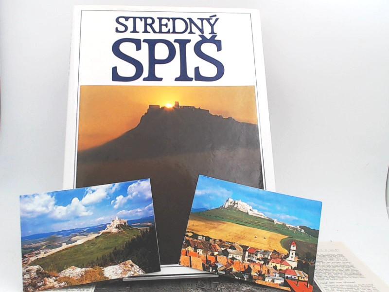 Stredný Spis/ Mittelzips. Text auch in deutsch, englisch und französisch.