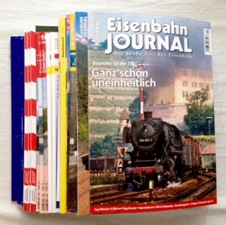 Modelleisenbahn/Eisenbahn - Konvolut mit 17 verschiedenen Fachmagazinen: 1-5) Eisenbahn Kurier. Vorbild und Modell: 8, 9, 10, 11, 12/2017; 6-8) Loki. Das Schweizer Magazin für den Modellbahnfreund: Nr. 7-8, 9, 10/2017; 9-14) Modellbahn Illustrierte: 4, 5, 6/2017; 15-18) Eisenbahn Journal: 8, 9, Bahnen + Berge 1, Sonder 2/2017; 19) MIBA - Die Eisenbahn im Modell 10/2017; 20) MBW - Modellbahnwelt 4/2017.