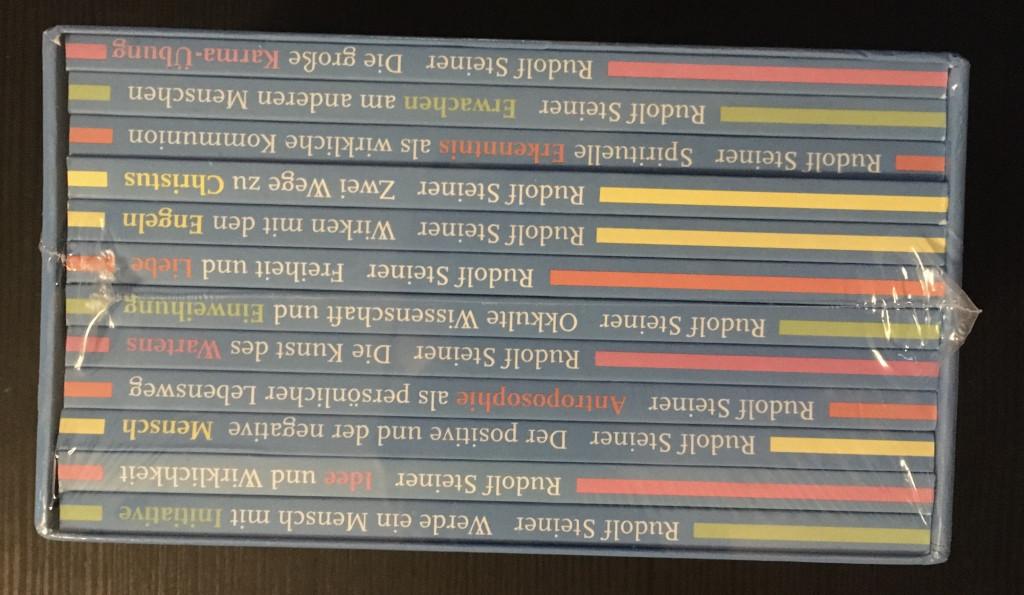 Rudolf Steiner  -  Impulse  -  Werde ein Mensch mit Initiative  -  Grundlagen - Ressourcen - Perspektiven Zwölf Wege zum Schöpferischen im Menschen Impulse 1-12 - Lin, Jean C